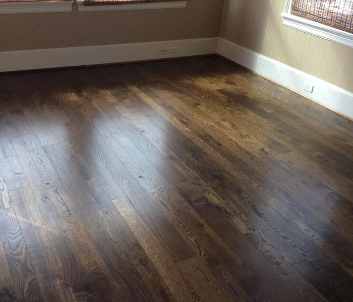 Wood Floor Clean and Polish in Houston, TX Before