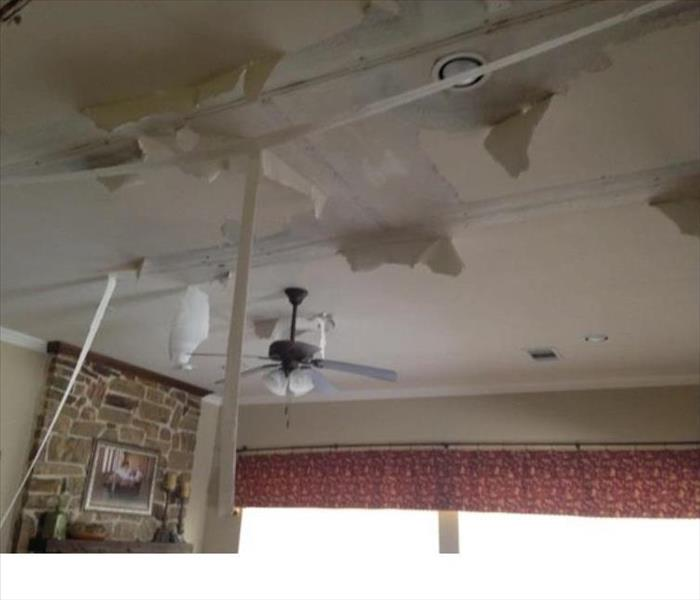 Water Damaged Home in Katy, TX