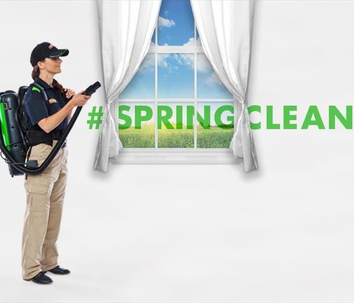 Cleaning SERVPRO Spring Cleaning