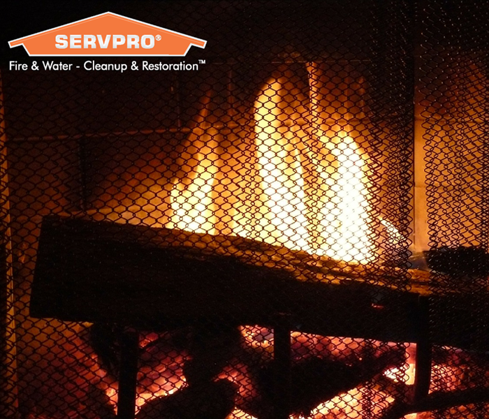 Fire Damage SERVPRO Winter Fire Safety Tips